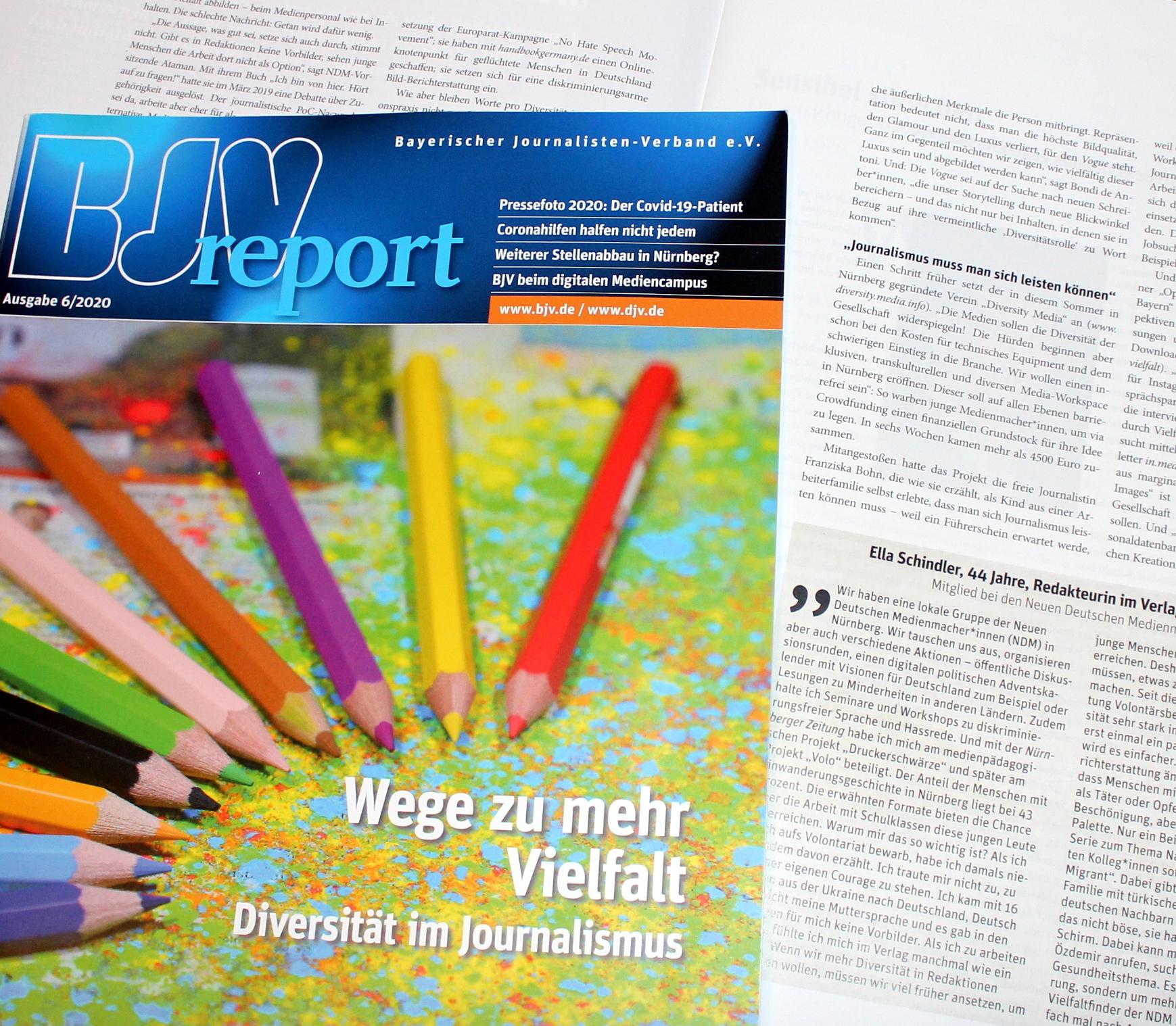 Interviews mit Diversity Media